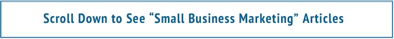 Small Business Marketing Scroll Box
