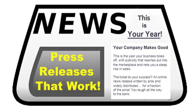 Press Release Ad Graphic