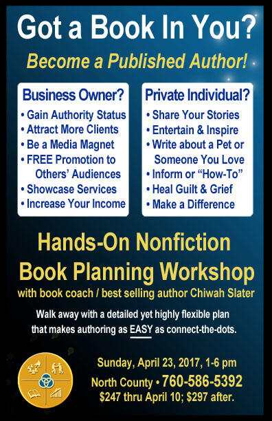 Book Planning Workshop April 2017